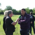 Mal gets an interview for DXTL with Ex Everton FC player Graham Sharp