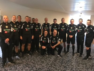 DXTL Out And About Today,So Did We Have A Shortage Of Referees ?