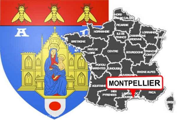 illustration pour Premier réseau de bornes à Montpellier