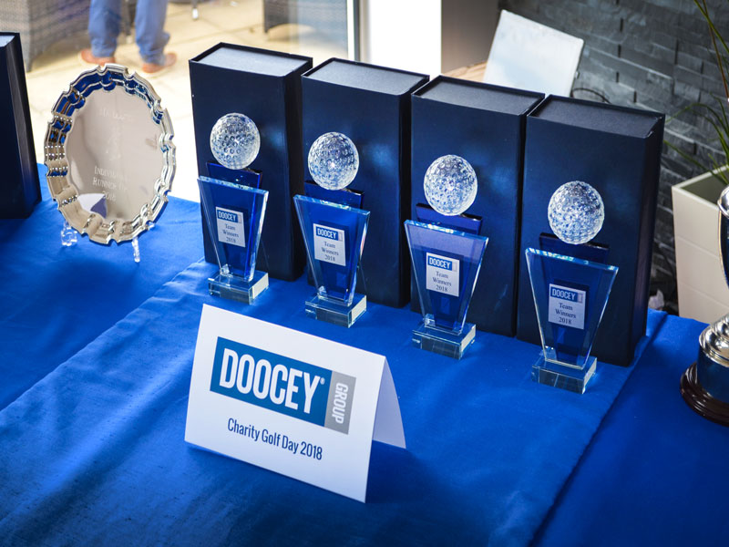 doocey, group, charity, golf, day, 2018