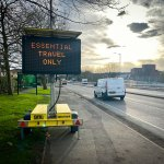 doocey, dudley, council, VMS, sign, covid, 19