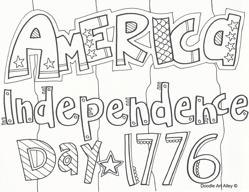 Top Independence Day Coloring Pages Printable