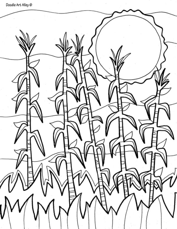fall coloring pages # 35