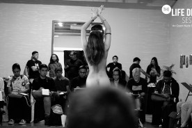 Flashes and Faces of Life Drawing Sessions