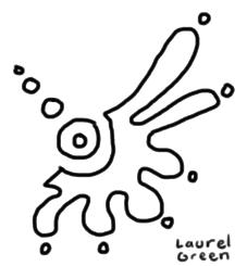 a doodle of a strange symbol
