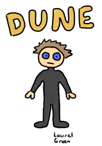 a drawing of paul atreides