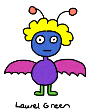 a drawing of a flying nerb