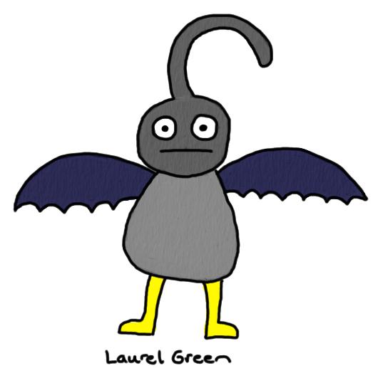 a drawing of ben affleck in his batman costume