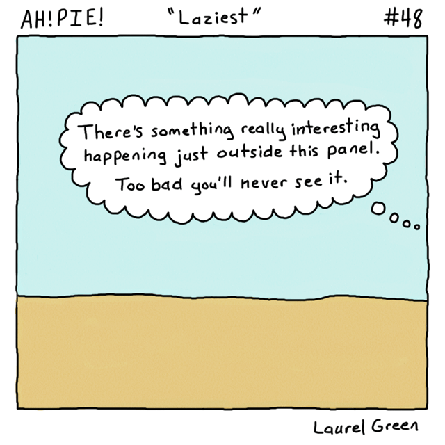 a comic about things you can't see