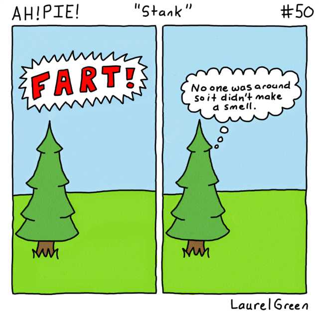 a comic about a farting tree