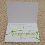 Bridal Shower Card | doomthings