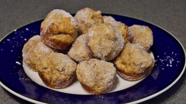 Baked Donut Holes | doomthings