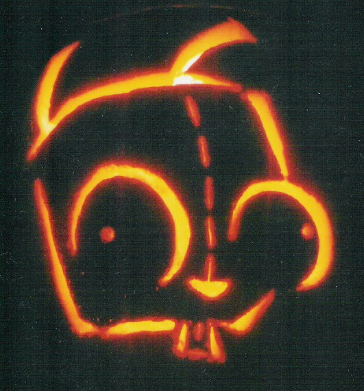 Gir pumpkin | doomthings