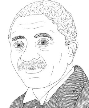 george washington carver coloring page # 26