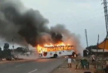 मुख्यमंत्री ने उत्तराखण्ड से धार्मिक यात्रियों की बस के दुर्घटनाग्रस्त होने पर दुख व्यक्त किया
