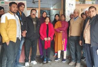 सड़क सुरक्षा सप्ताह के अंतर्गत निशुल्क नेत्र शिविर आयोजित
