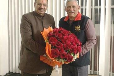 विधायक जोशी ने हवलदार राजेन्द्र सिंह के सकुशल वापसी की मांग की