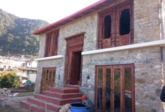 देहरादून: खिर्सू में नवनिर्मित पहाड़ी शैली का होम स्टे 'बासा' शीघ्र ही पर्यटकों के लिए खुलेगा