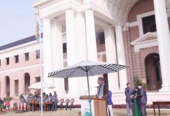 एफआरआई में हर्षोल्लाास से मना गणतंत्र दिवस समारोह