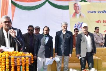 मुख्यमंत्री ने राज्य स्तरीय खेल महाकुम्भ का शुभारम्भ किया