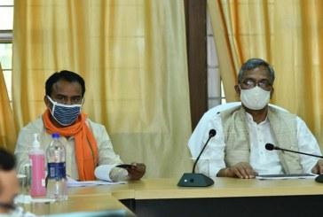 मुख्यमंत्री ने राधास्वामी सत्संग व्यास स्टेजिग एरिया में कोविड-19 से सम्बन्धित राहत केन्द्र का जायजा लिया