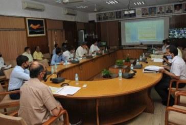 मुख्य सचिव की अध्यक्षता में प्रधानमंत्री कृषि सिंचाई योजना की राज्य स्तरीय स्वीकृति समिति की बैठक