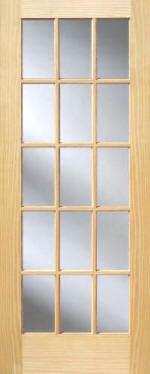 Pine 15 Lite French Interior Doors Homestead Doors