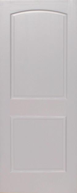 Primed Pine Arch 2 Panel Wood Interior Doors Homestead Doors