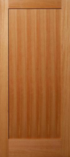 Vertical Grain Douglas Fir 1 Panel Flat Panel Interior