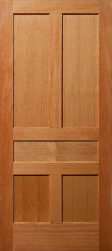 Vertical Grain Douglas Fir 5 Panel Interior Wood Doors