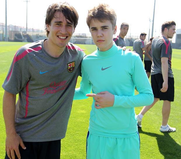 Futbolistas amigos famosos
