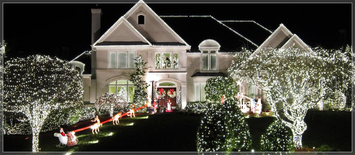 Christmas Lights A Discussion Door Flies Open