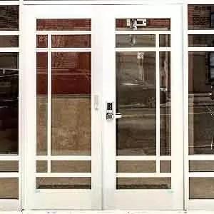 aluminium doors 0002 aluminium doors with security lock