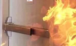 Panic Device 0002 Panic Device exit door