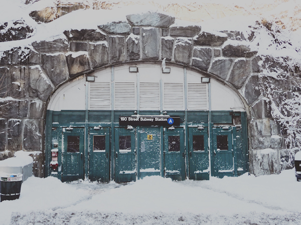 Subway Snow