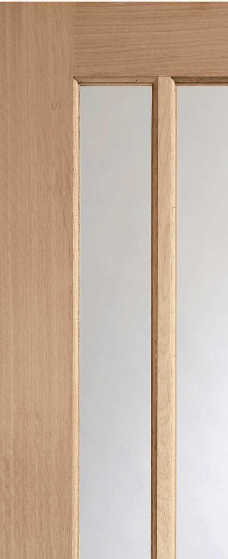 Worcester Bifolding Oak Internal Doors
