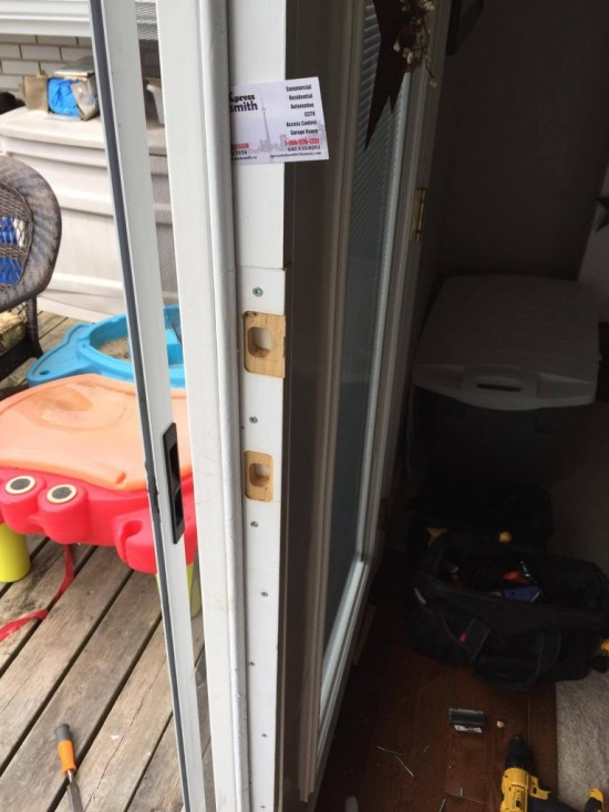 Brampton Door Repair after Break in