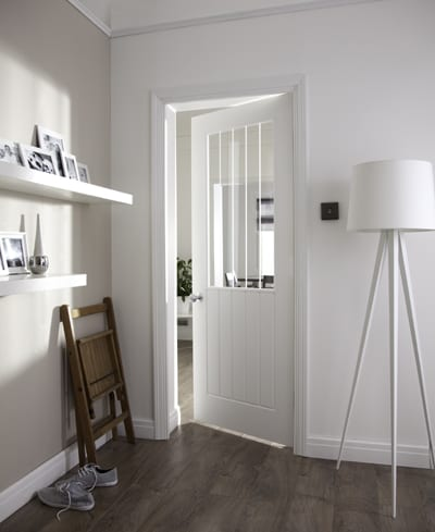 Jeld Wen Newark 5P Woodgrain Promotional Doors Doors