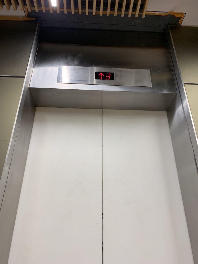 elevator smoke containment system