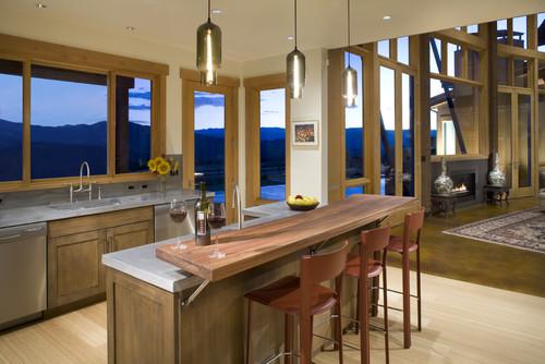 5 Design Ideas For Kitchen Islands With Seating Doorways