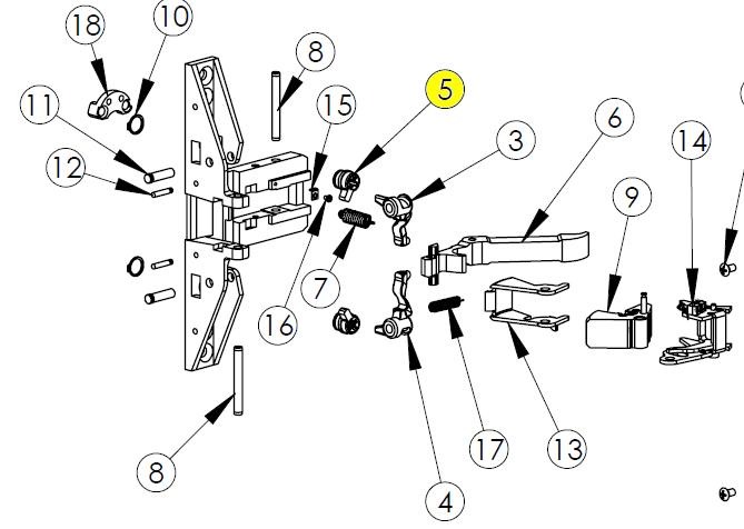 Kawneer Paneline Parts Breakdown Diagram