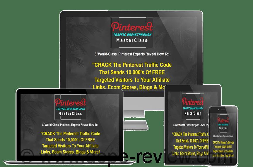 Pinterest Traffic Breakthrough MasterClass