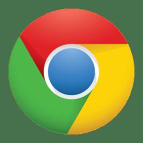 Chrome logo for iOS