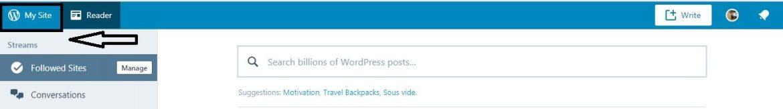 network admin not showing in wordpress