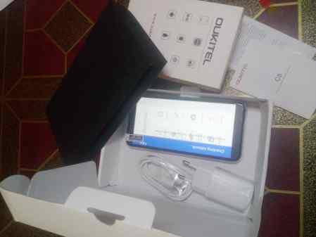 Oukitel C8 unboxing