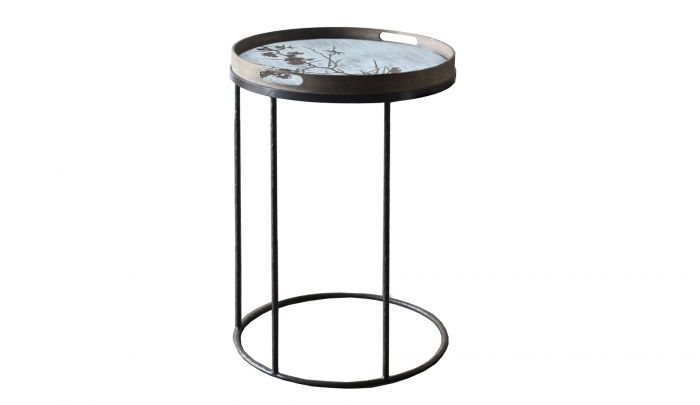 notre monde tray high side table round s