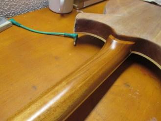 oil wax guitar