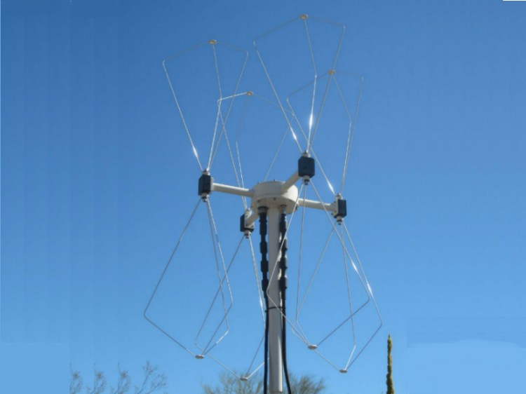 doppler four element antenna