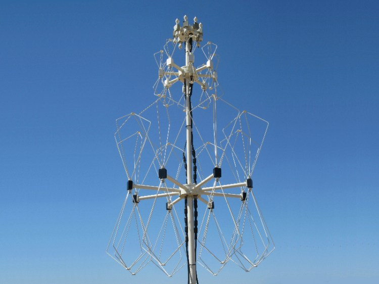 doppler three band antenna