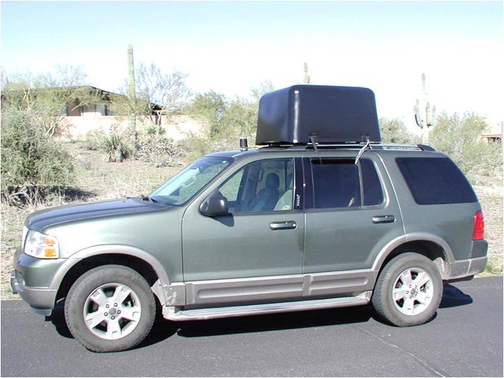 custom roof pod antenna DDF5948